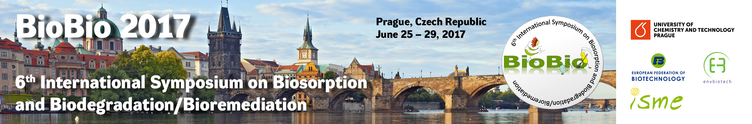 ISBB 2017, 25. 6. – 29. 6. 2017, Balling Hall of the National Library of Technology, Prague, Czech Republic