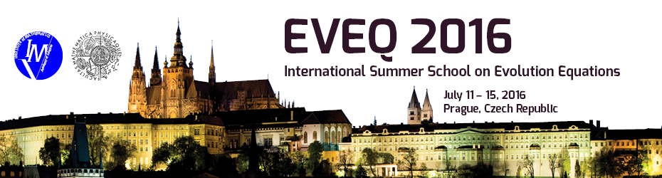EVEQ 2016, 11. 7. – 15. 7. 2016, Prague, Czech Republic