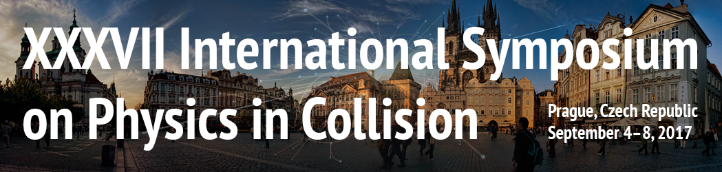 Physics in Collision 2017, 4. 9. – 8. 9. 2017, Czech Technical University in Prague, Faculty of Nuclear Sciences and Physical Engineering